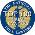 Certificate stating that Horowitz is a top 100 trial lawyer by the national trial lawyers association
